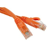 Hyperline PC-LPM-UTP-RJ45-RJ45-C5e-1M-LSZH-OR